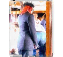 Controller in the railway wagon iPad Case/Skin