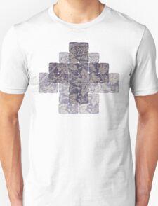 Meditation in blue T-Shirt