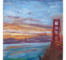 San Francisco Sunrise Photographic Print