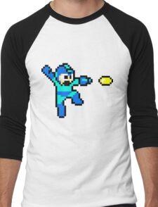Blue Bomber Men's Baseball ¾ T-Shirt