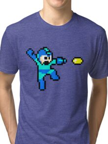 Blue Bomber Tri-blend T-Shirt