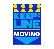 KC Royals: Keep the Line Moving Art Print
