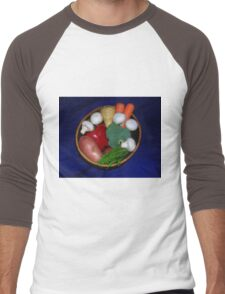 Mixed Vegetables Men's Baseball ¾ T-Shirt