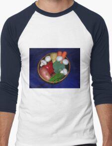 Mixed Vegetables Men's Baseball ¾ T-Shirt