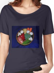 Mixed Vegetables Women's Relaxed Fit T-Shirt