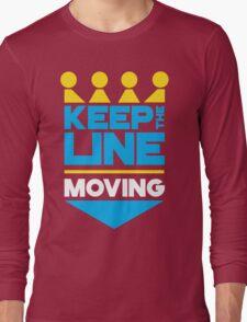 KC Royals: Keep the Line Moving Long Sleeve T-Shirt