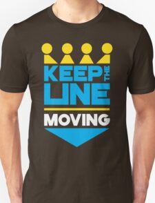 KC Royals: Keep the Line Moving Unisex T-Shirt