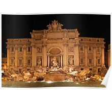 Trevi Fountain Poster