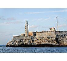El Morro lighthouse, Havana, Cuba Photographic Print