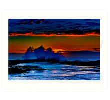 CLOVELLY SUNRISE 2 Art Print