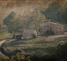 Tuscan Villa Vista by Karen Lewis