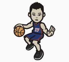 Jeremy Lin - Blue by mochadrinker