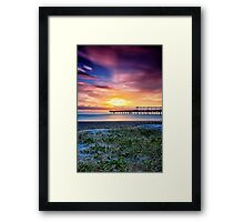 Sunrise of Hope Framed Print
