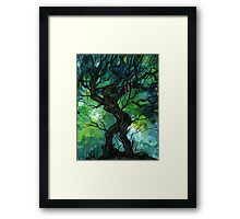 Tree of Life Series — The Serpent Framed Print