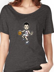 Jeremy Lin - White Women's Relaxed Fit T-Shirt