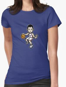 Jeremy Lin - White Womens Fitted T-Shirt