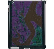 USGS Topo Map Washington State WA Gig Harbor 241270 1959 24000 Inverted iPad Case/Skin