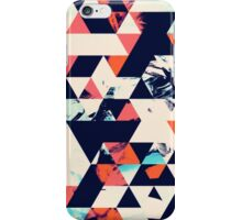 Geometric Paint Triangles iPhone Case/Skin