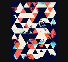 Geometric Paint Triangles Unisex T-Shirt