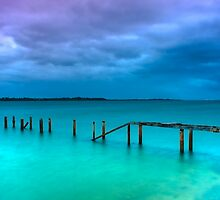 The Little Cleveland Jetty by Lincoln Stevens