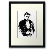 James Dean - Tee Framed Print