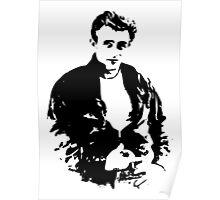 James Dean - Tee Poster