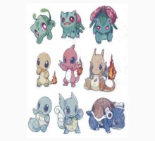 Chibi Starters1 by magumy