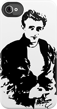 James Dean - Tee by Lauren Eldridge-Murray