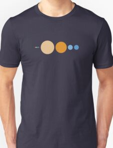 Planets To Scale T-Shirt