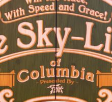 BioShock Infinite – The Sky-Lines of Columbia Sign Sticker