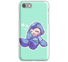 Sleepy Megaman iPhone Case/Skin