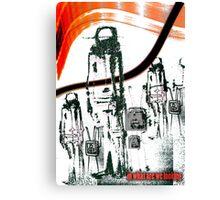 beyond tv programm Canvas Print