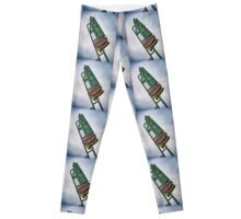 Vintage Motel Sign Leggings