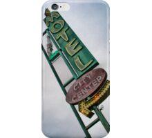 Vintage Motel Sign iPhone Case/Skin