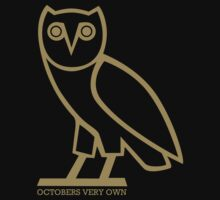 Drake OVO Owl - Octobers Very Own by phrixxxus