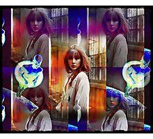 stratosphere girl Photographic Print