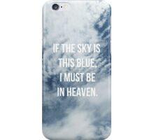 Blue Skies iPhone Case/Skin