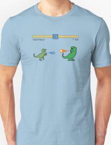 Dinosaur Fighter Game - Velociraptor vs T-Rex T-Shirt