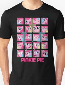 The Many Faces of Pinkie Pie Unisex T-Shirt