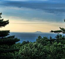 Blue Ridge Parkway View by Carolyn  Fletcher