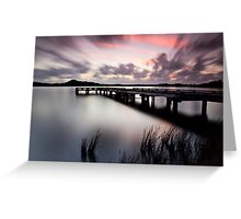 Sunset Strahan Style Greeting Card