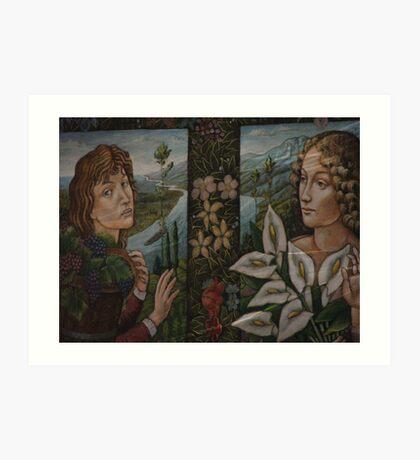 Gwenevive & Heracio Art Print