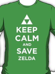 Keep Calm and Save Zelda T-Shirt