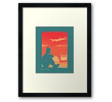 Korra in Nine Framed Print