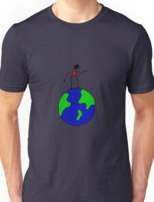 DoodleBud on top of the world  Unisex T-Shirt