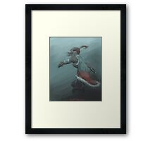 Korra in Eight Framed Print