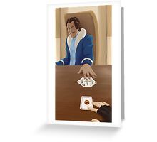 Show  Your Hand Greeting Card
