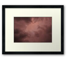 A Little Patch of White Framed Print