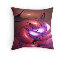 Blooming Easter Egg Throw Pillow