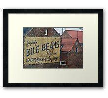 Bile Beans Framed Print